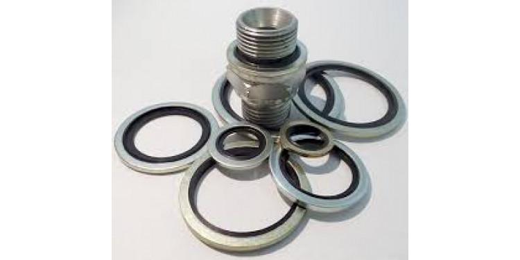 Уплотнения резинометаллические, кольца USIT: